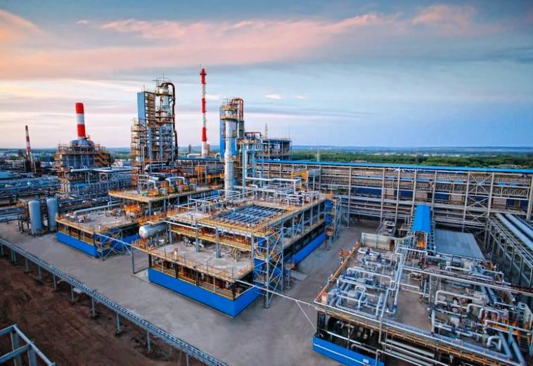 """""""Газпром"""" вывел производство кислоты"""