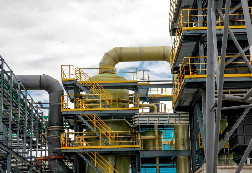 Производство серной кислоты и соды падает