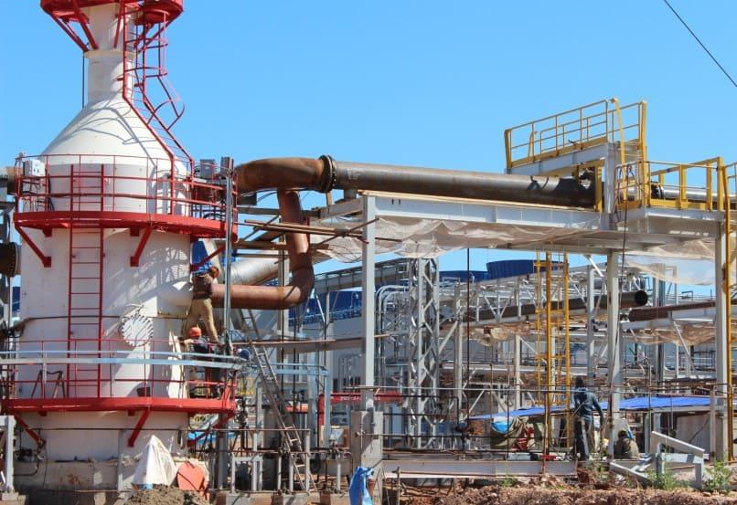 Новый завод по производству аммиака