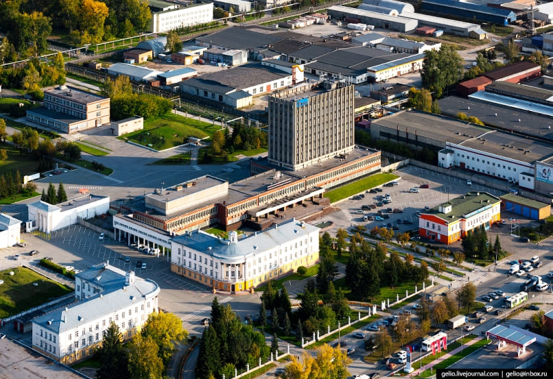Индустриальный парк под Новосибирском