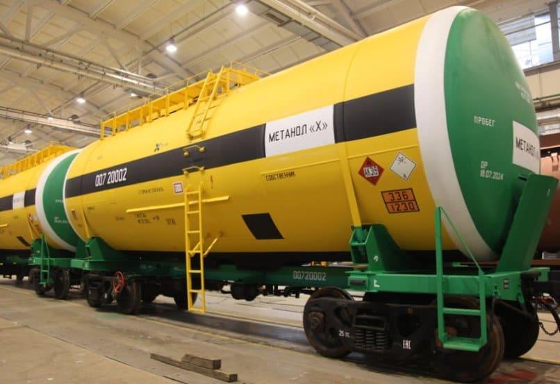 Российские предприятия увеличили экспорт метанола