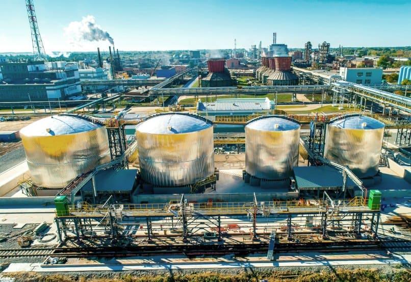 Аналитика производства серной кислоты и этилена