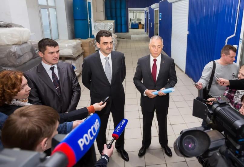 Центр малотоннажной химии запускают в Томске