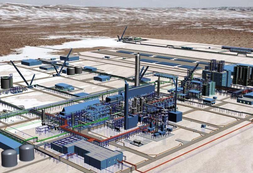 Цифровой завод полипропилена в Казахстане