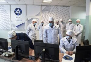 Новое производство гидроксида лития