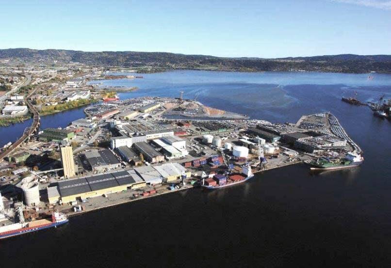 Терминал для бункеровки аммиака в Норвегии
